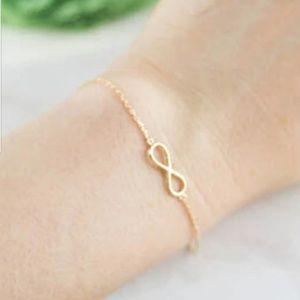 Infinity Love Gold Color Bracelet New